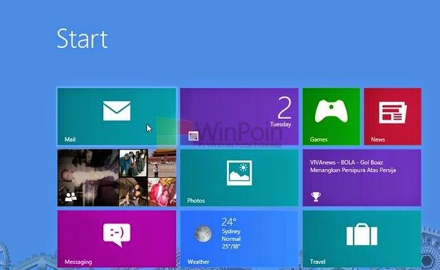 Cara Mematikan Atau Mengaktifkan Notifikasi Akun E-mail Tertentu Aplikasi Mail Di Windows 8