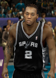 NBA 2K13 Kawhi Leonard Cyber Face Patch