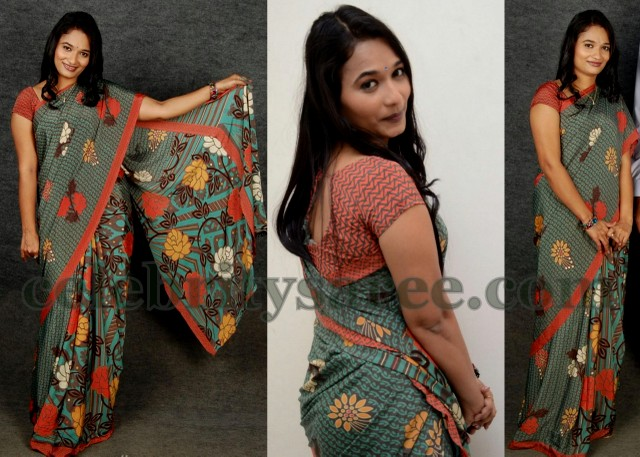 Flower Printed Sarees Snehika Printed Saree