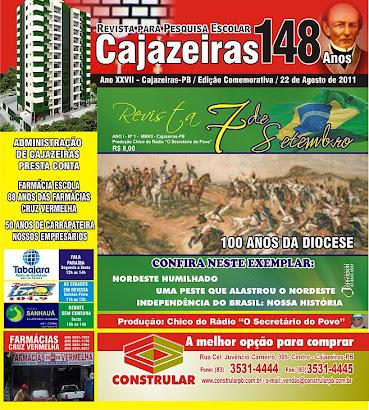 LANÇAMENTO DA REVISTA CAJAZEIRAS