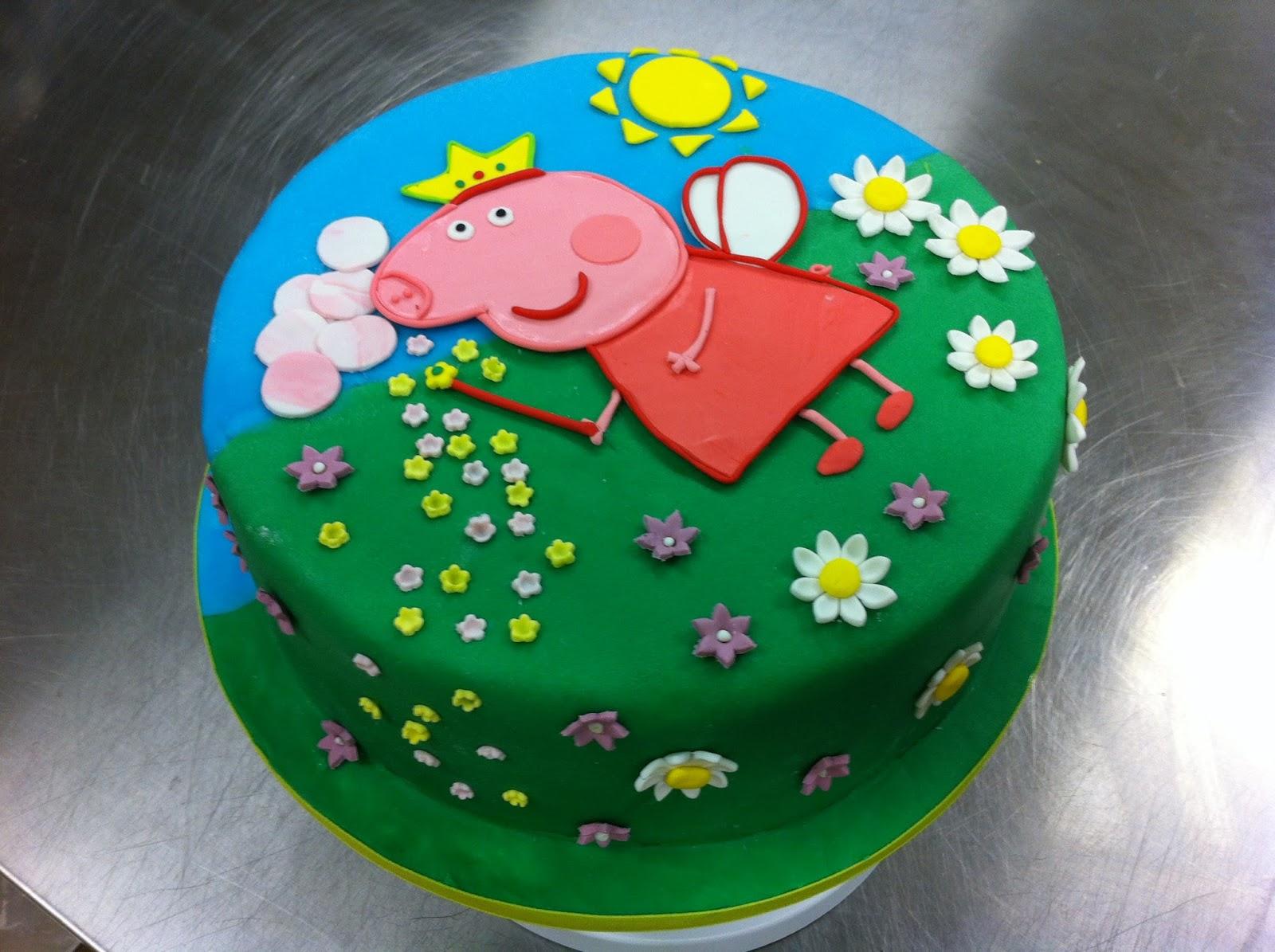 Super La rosa di zucchero: Peppa pig cake SL69