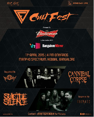 Buy CULTFEST Tickets Now
