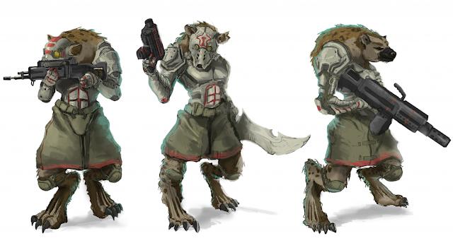 Wargame News And Terrain Underfire Wargaming Scifi Hyena