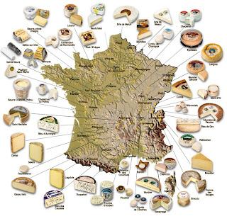 Карта сыров