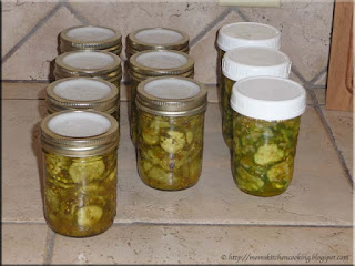 zesty bread n butter pickles and freezer pickles