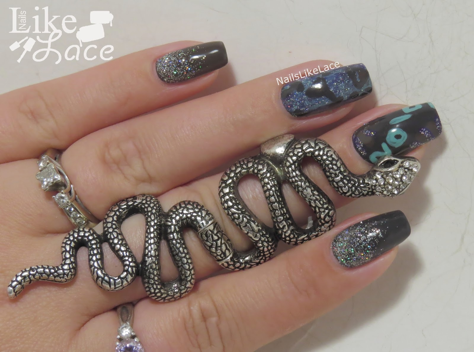 NailsLikeLace: New Years Nails