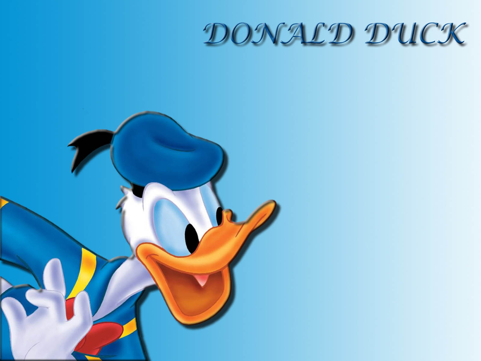 Wallpaper Donald Duck