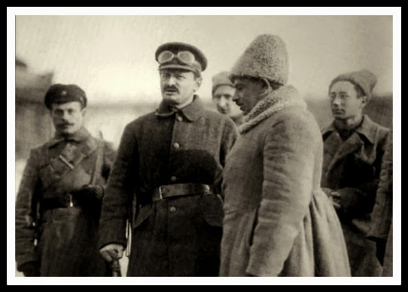 legión checoslovaca, guerra civil rusa, tren, trotsky