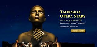 IL TAORMINA OPERA STARS DEBUTTA AL TEATRO ANTICO
