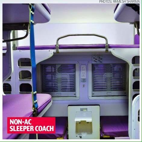 Non AC Sleeper Coach