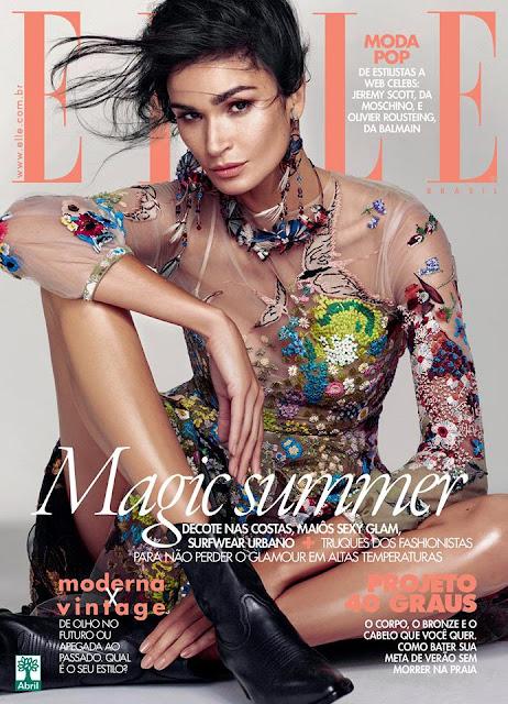 Fashion Model @ Caroline Ribeiro by Nicole Heiniger for Elle Brazil, November 2015