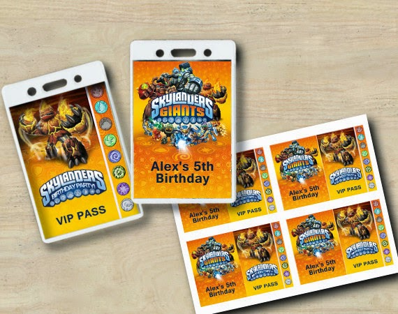 Skylander Invitations with great invitation ideas