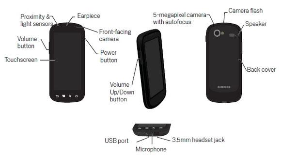 Samsung Google Nexus S Manual