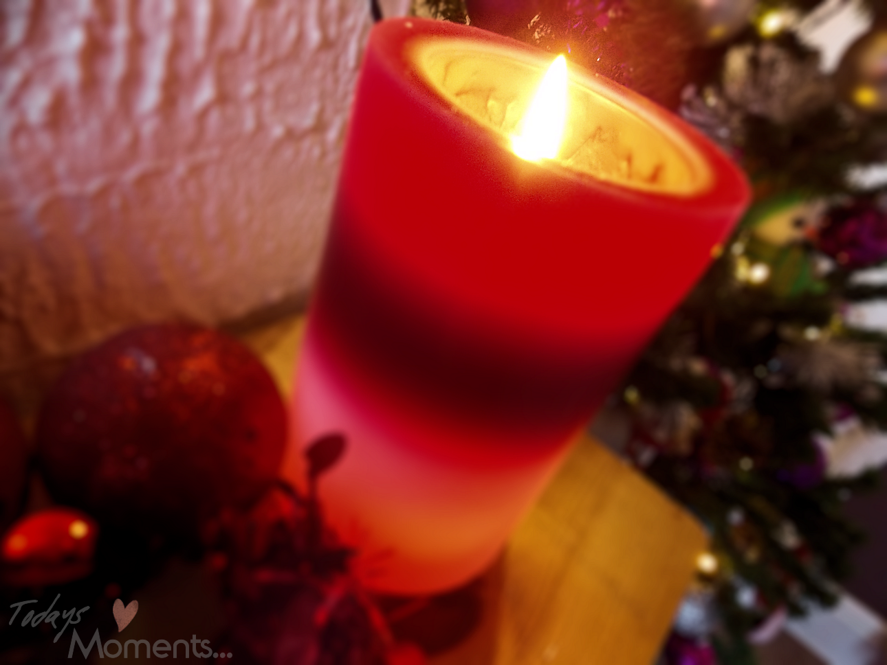 pretty christmas candle colour changing decorations