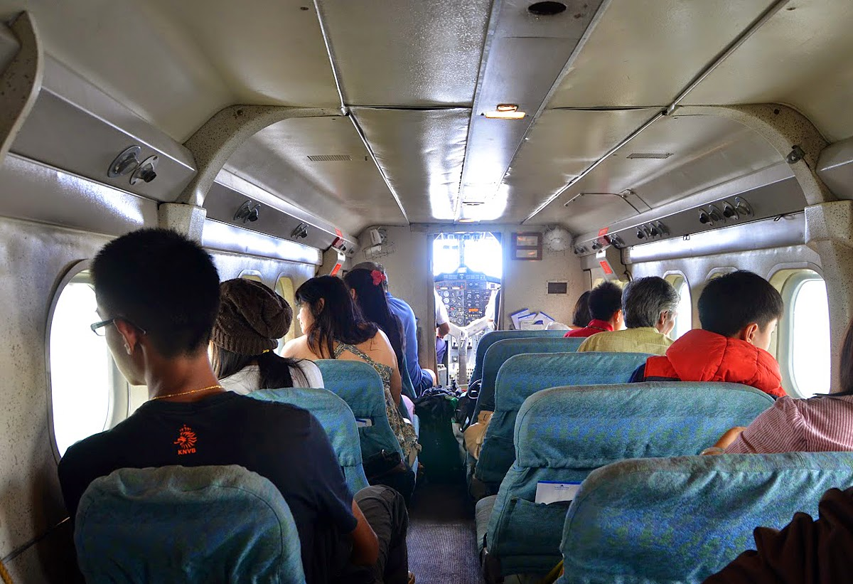 Flying to Bario