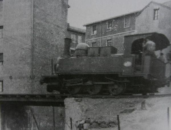 El tren minero de la Franco Belga