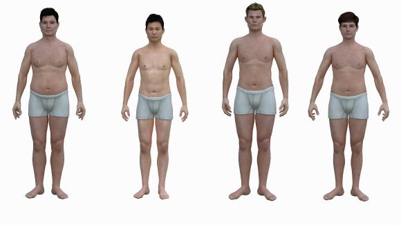 人 身長 アメリカ 平均