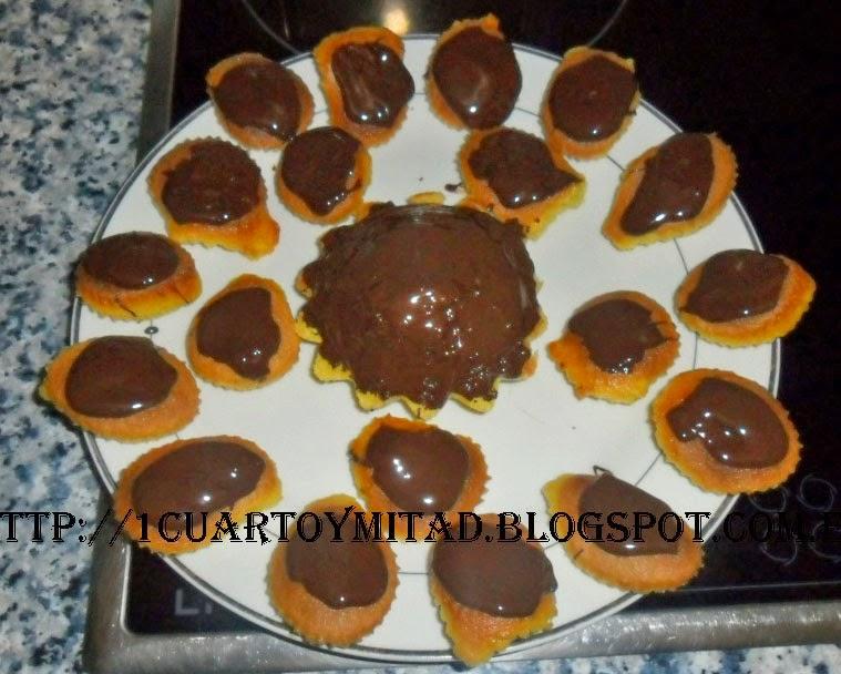BIZCOCHOS DE CHOCOLATE SIN GLUTEN
