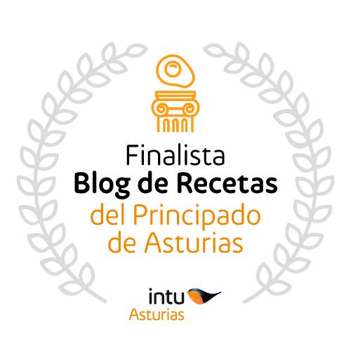 """Concurso """"Mejor blog de Recetas 2016 del Principado de Asturias"""""""