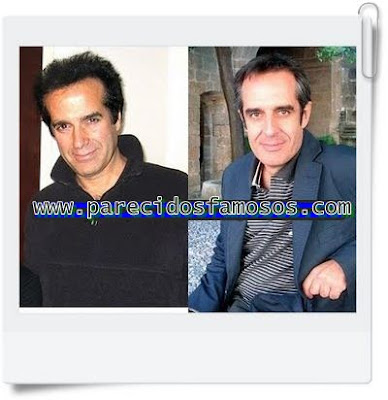 Parecido David Copperfield y Juan Pedro Valentín