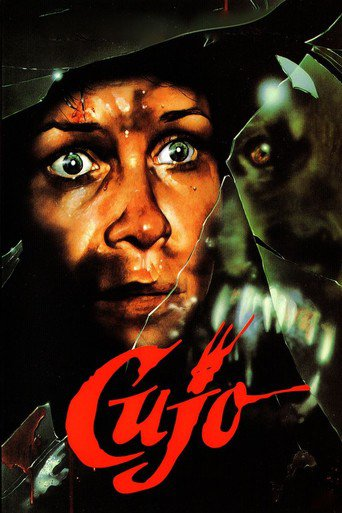 Poster Of Cujo 1983 Dual Audio 720p BRRip [Hindi-English] Free Download Watch Online
