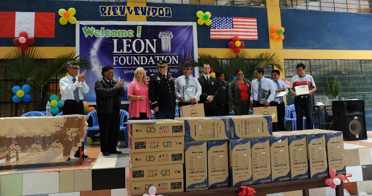 Leon Foundation Computer Donation 2012