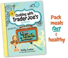 cooking with trader joes book, easylunchboxes, healthy lunches