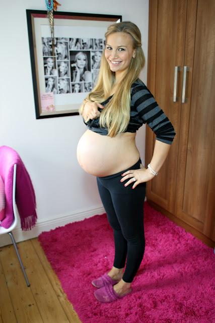 39 weeks pregnant boob milk amp smoking - 1 part 6