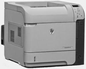 HP LaserJet Enterprise 600 M601n Printer Driver Download