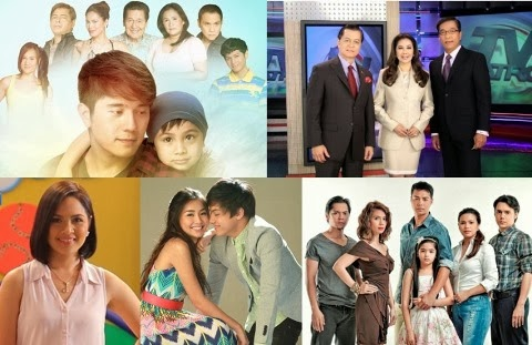ABS-CBN Clinches 12 of 15 Top Programs Nationwide in November 2013