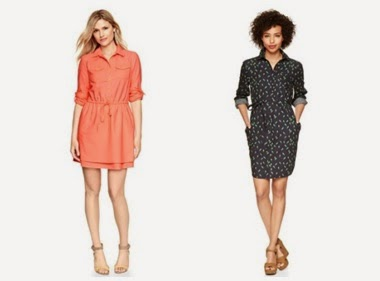Cotton shirt dresses