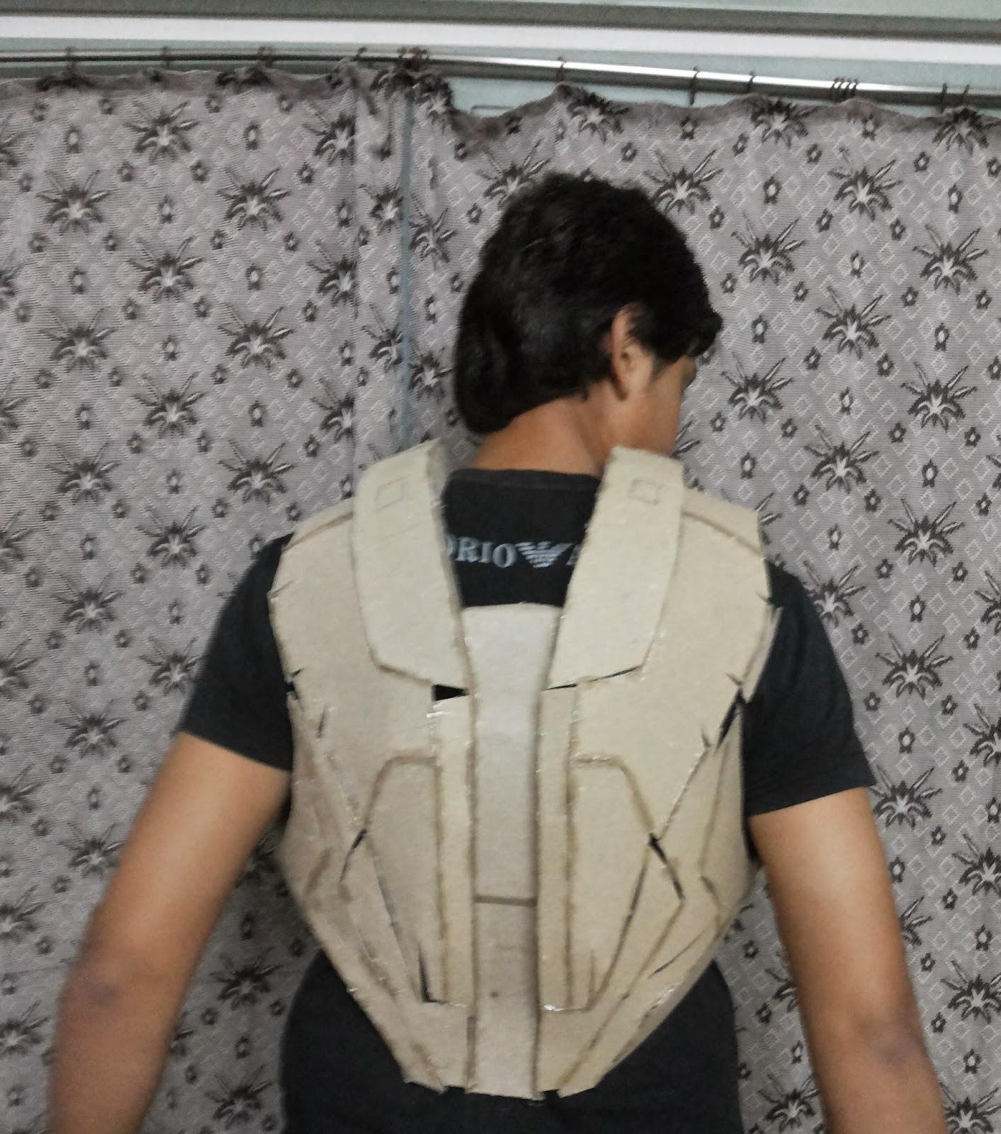 Vinay Tankoliya Iron Man Suit Mark Vi Mark 6 Part 6 Back