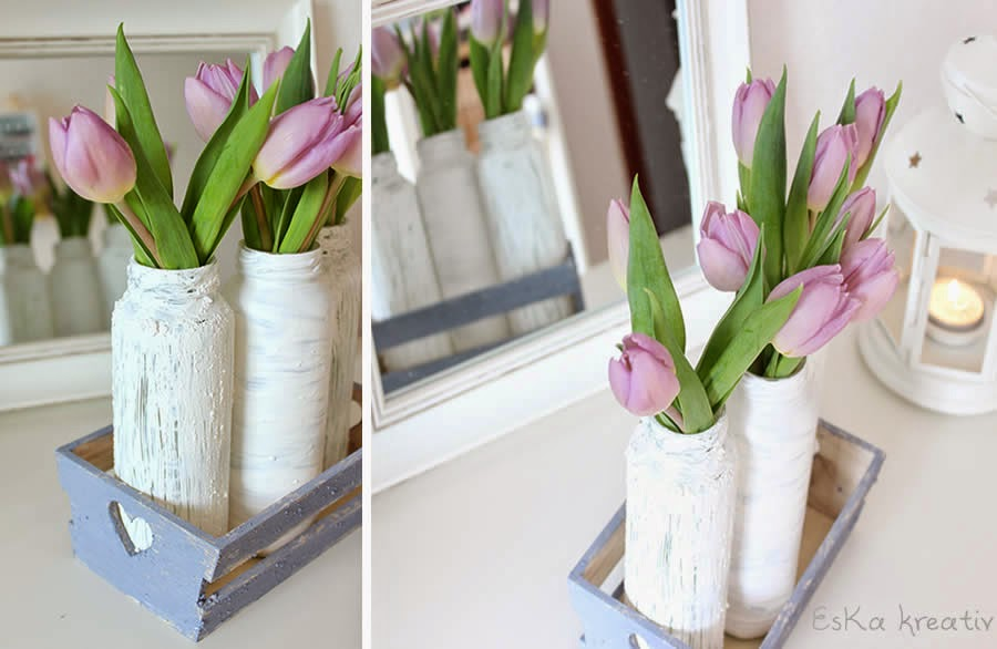 Shabby chic chalky paint