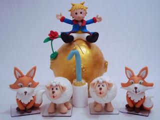 decoração de festa do Pequeno Príncipe