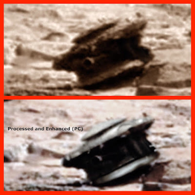 Drone Found Crashed Near Mars Rover 2015, UFO Sightings