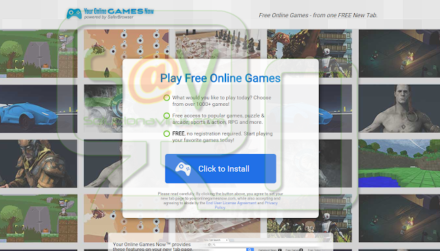 Your Online Games Now - Virus