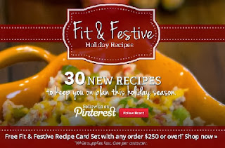 medifast fit and festive recipe banner