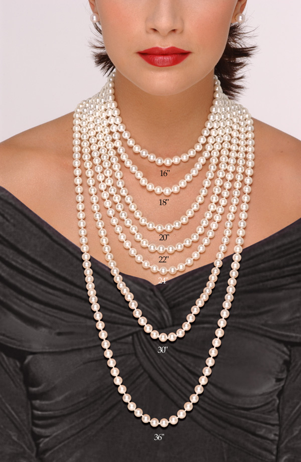 how to create pearl necklace