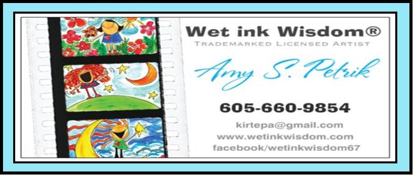 Wet ink Wisdom®
