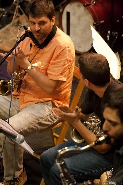 Miguel Pinxo Villar, Joan Mas y Gonzalo Levin