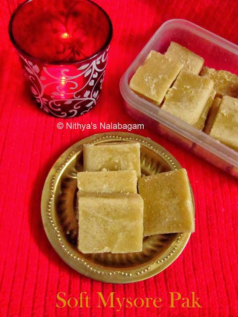 Soft Mysore Pak