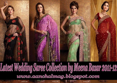 Fashion Dresses 2011 Weding Sarees on 2011 12   Indian Designer Wedding Sarees   Sarees Blouse Bridal