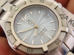 TAG HEUER 200M SOFT BLUE TEXTURED DIAL - AUTOMATIC ETA 2000-1 - LADY WATCH