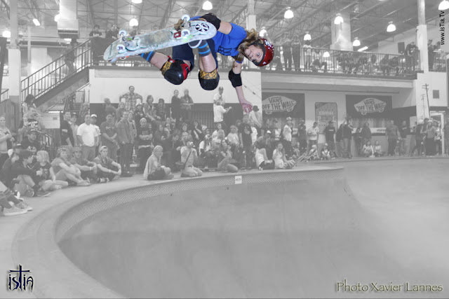 Alana Smith, Girls Combi Classic 2013, Vans skatepark, 540
