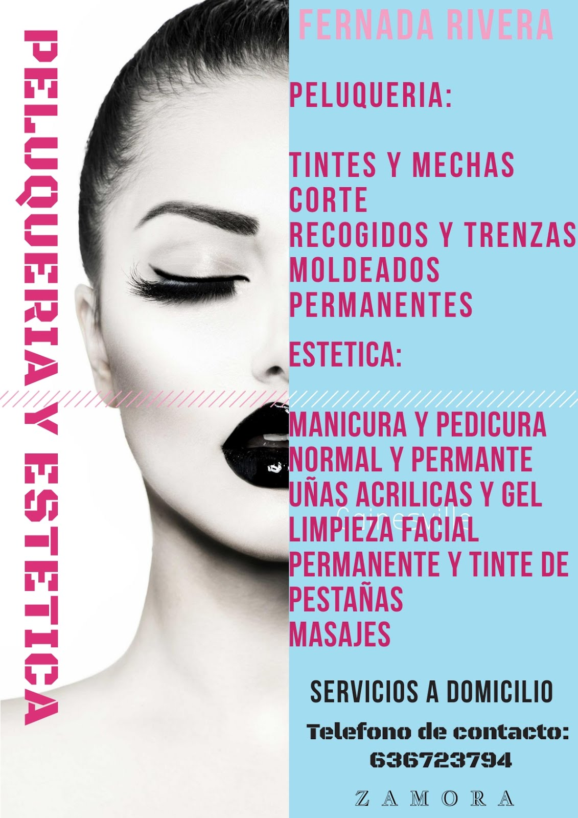 Atractivo Muestra De Reanudación De Esteticista Embellecimiento ...