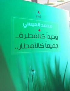 كتاب وحيداً كالقطرة جميعاً كالأمطار في المكتبات (أبو ذر/ جمال عبدالناصر