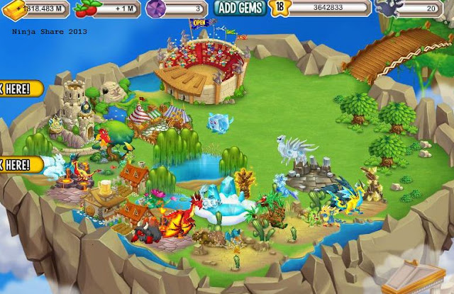 Cara Mencari User Key Dragon City di Facebook tanpa Cheat Engine