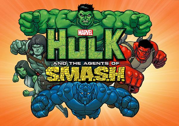 saiu o primeiro trailer do desenho hulk e os agentes da esmaga