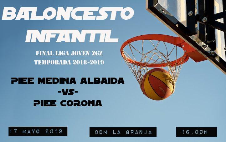 Final Baloncesto Infantil