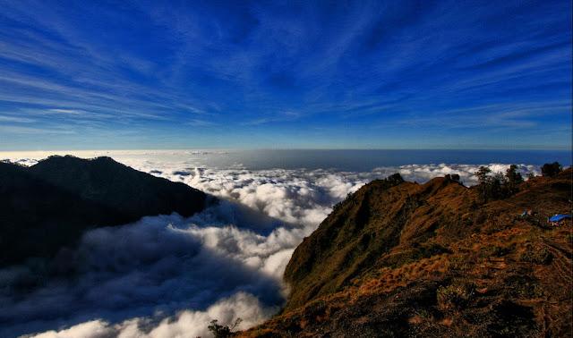 Plawangan Sembalun 2639 meter altitude of Mount Rinjani